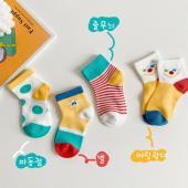 夏季男童襪(四入一組)-1031繽紛馬戲團