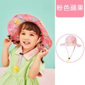 lemonkid-渡假風印花帽-粉色蘋果
