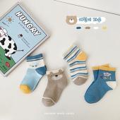 夏季男童襪(四入一組)-1035晴朗的一天