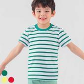 韓國ozkiz橫條T恤OO3T03U-綠