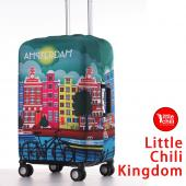 LittleChili行李箱套522-阿姆斯特丹彩-L