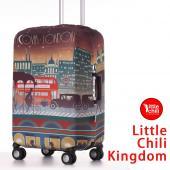 LittleChili行李箱套532-倫敦彩-L