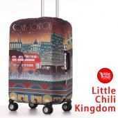 LittleChili行李箱套532-倫敦彩-M