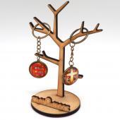 JB Design-文創教會玻璃鑰匙圈