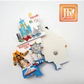 JB Design台灣波麗磁鐵-JB031-高雄樂樂遊