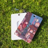 JB Design-票卡鑰匙圈-543-九份山城