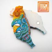JB Design台灣波麗磁鐵-JB040-陽光花蓮