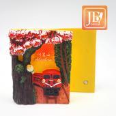 JB Design方波麗磁鐵-JB061-花開阿里山